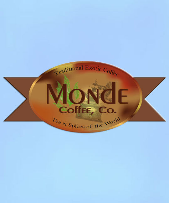 Monde coffee and tea logo